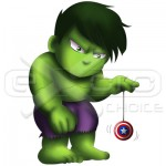 The Hulk Chibi