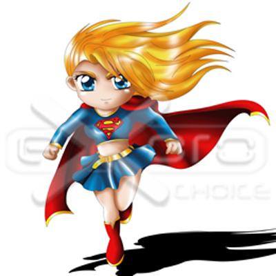 Exoro Shop Supergirl Chibi - Exoro Shop