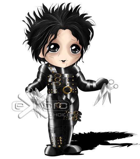 Edward and Scissorhands