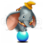 Dumbo-Withball-Blank-thumb