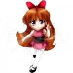 Blossom Powerpuff Girls Chibi