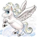 Pegasus-Flying